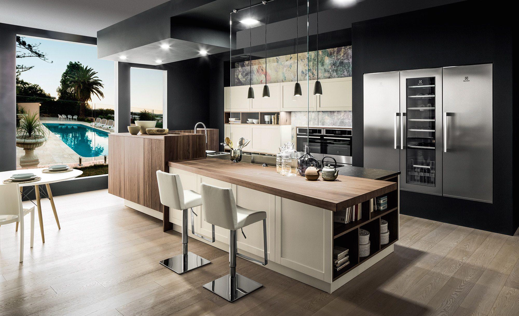 cuisines italiennes haut de gamme perfect cuisines italiennes haut de gamme avec rose couleur. Black Bedroom Furniture Sets. Home Design Ideas